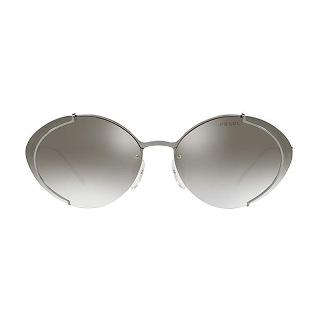 3c69e918f Marcas - Prada Prada Metal Feminino Espelhado Oval – lojadosoculos